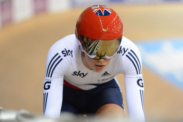 Becky James, Track World Championships 2013, day three morning