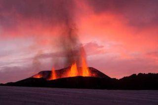 Eyjafjallajokull Iceland Volcano Fissure