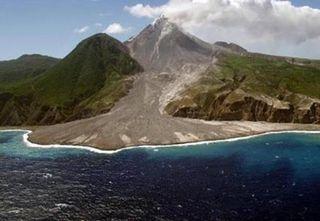 volcano, caribbean