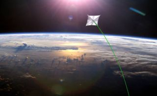Solar Sail in Space
