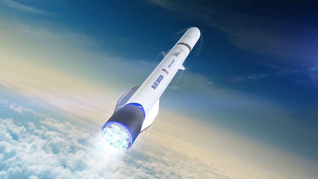 Jeff Bezos' Blue Origin won't launch its 1st New Glenn rocket until late 2022