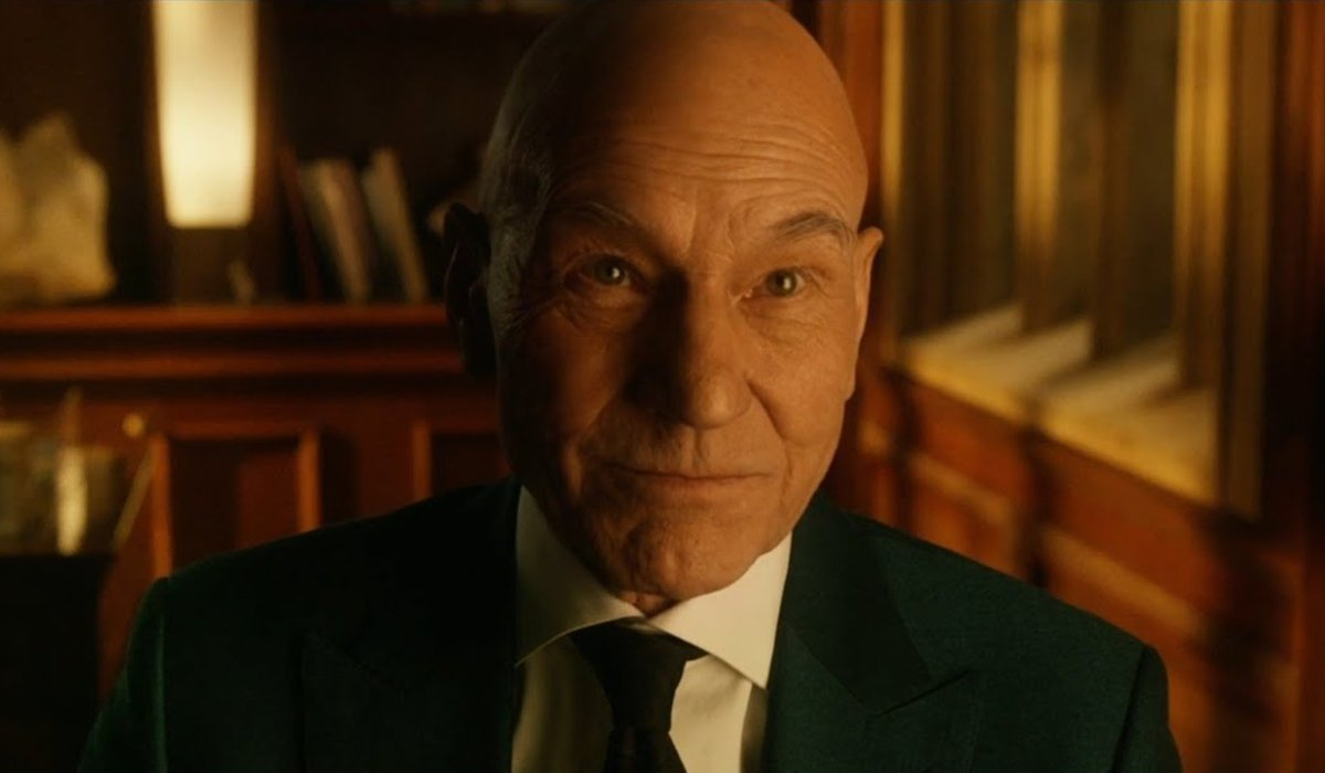 X-Men: Days of Future Past Professor Xavier smiles knowingly
