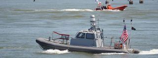 Navy swarm boat