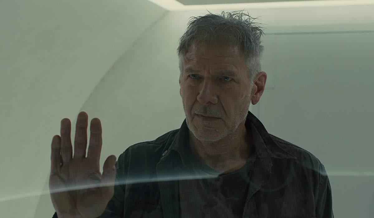 Harrison Ford as Deckard in Blade Runner 2049