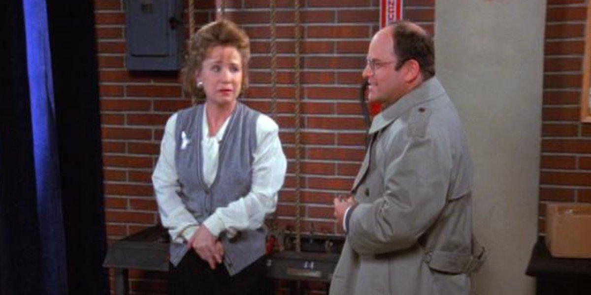 Debra Jo Rupp and Jason Alexander on Seinfeld