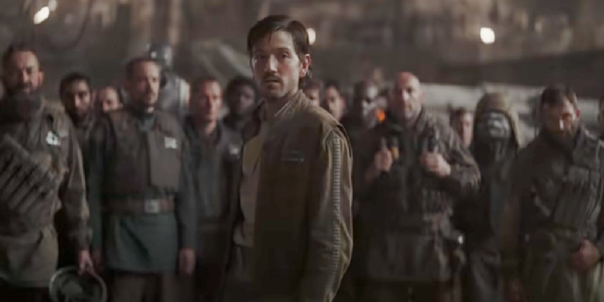 Cassian Andor in the sizzle reel for Andor.