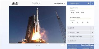Rocketbuilder website screenshot