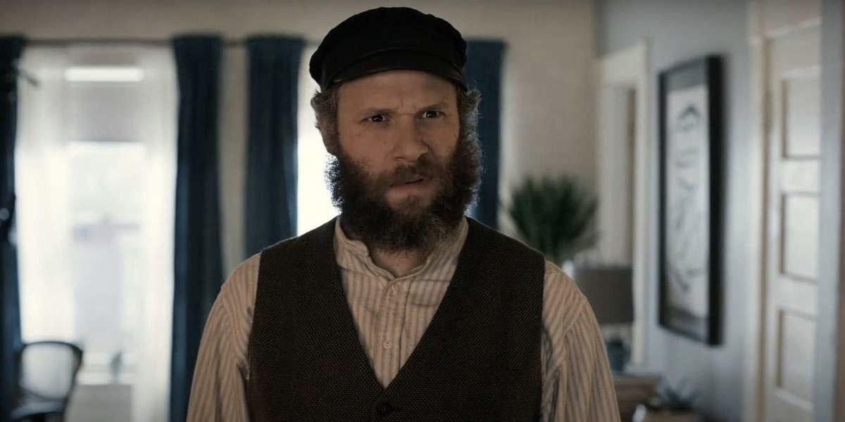 Seth Rogen as Herschel Greenbaum in An American Pickle (2020)