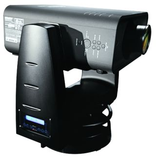 Christie YK50 Dual-Arm Moving Projector Yoke at LDI