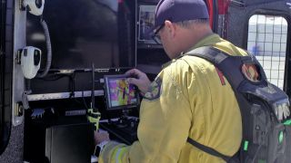 The Freemont Fire Department is using the TVU One mobile transmitter and TVU Overwatch browser-based viewer with its UAV program.