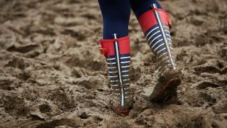 Fans can expect muddy conditions at Glastonbury