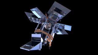 European Sentinel-5P satellite