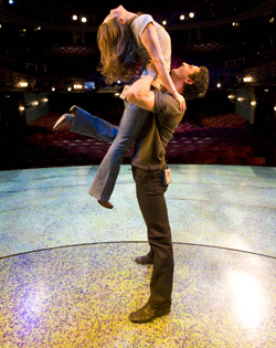 ...to practise their lifts for Rachel's American Smooth routine