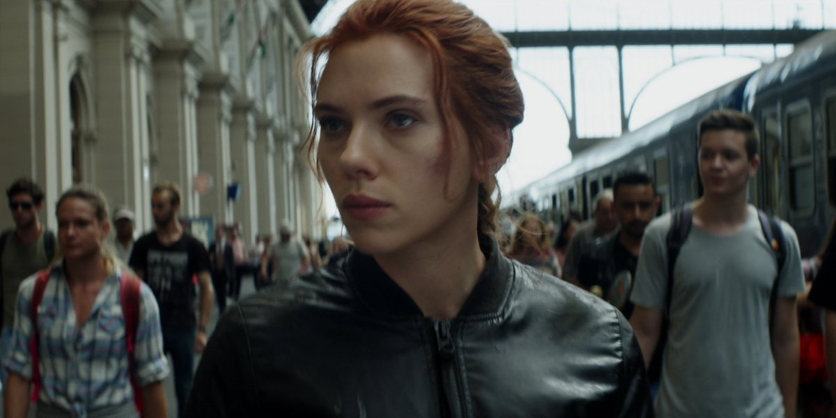 Black Widow in Black Widow