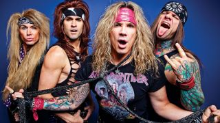 A promotional picture of Steel Panther