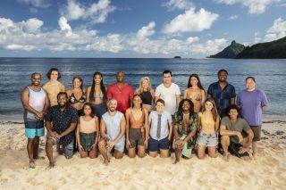The cast of Survivor 41