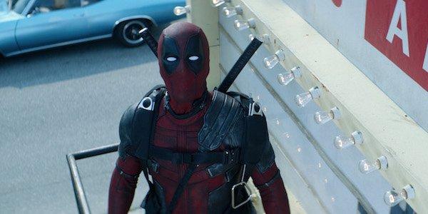 Wade Wilson staring into sky in Deadpool 2