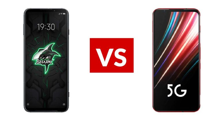 Xiaomi Black Shark 3 vs Nubia Red Magic 5G
