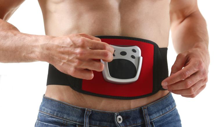 Electric stimulator belt