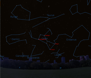 Orion Dec 25