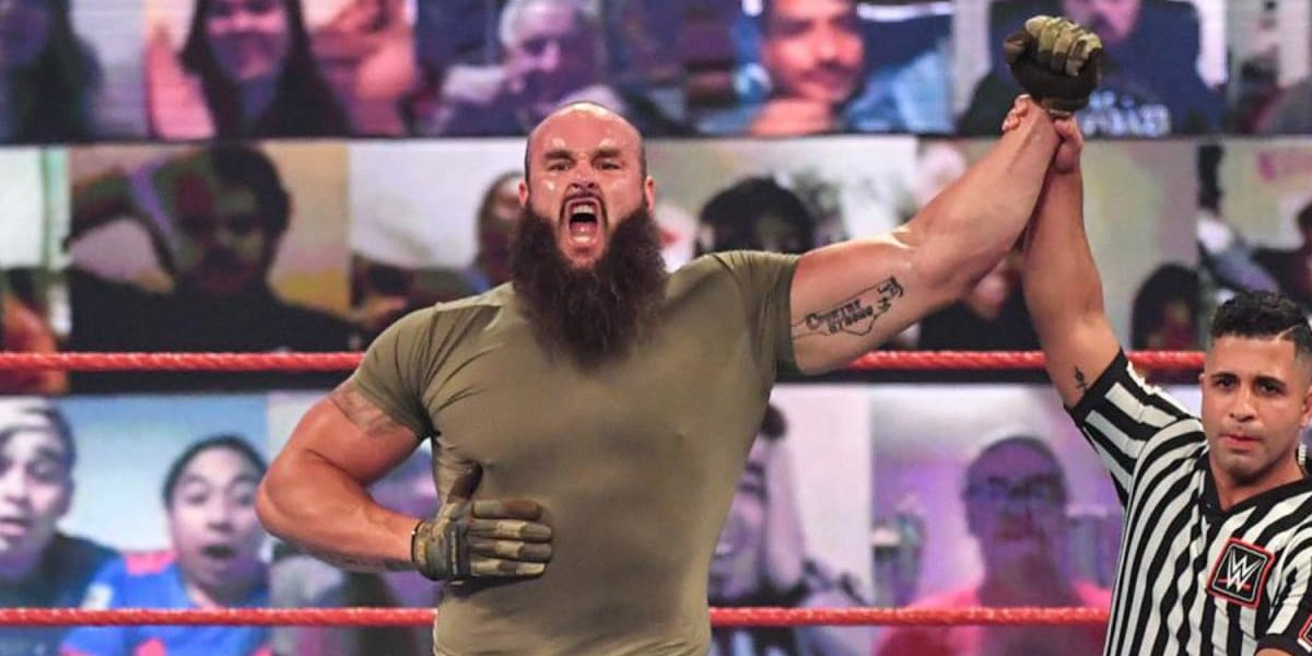 Braun Strowman on Monday Night Raw