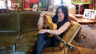 A photograph of Paul Stanley in his home