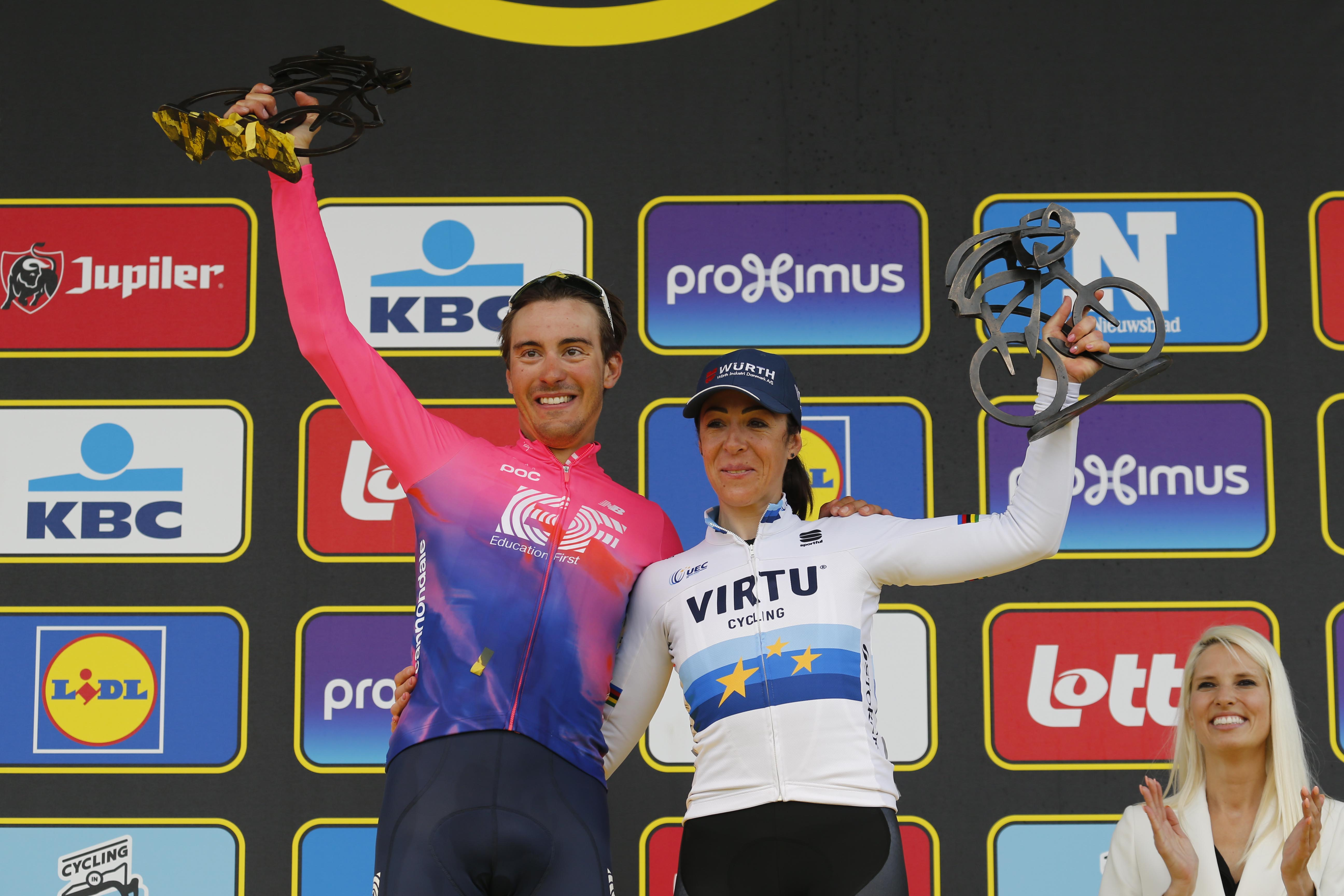 How much prize money did Alberto Bettiol and Marta Bastianelli get for Tour of Flanders wins?