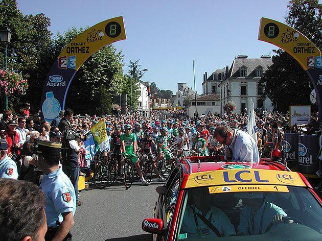 Tour de France 2007 stage 16 rider protest