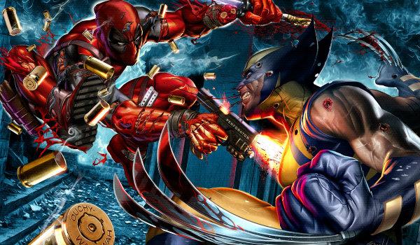 Wolverine Deadpool New Mutants
