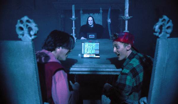 Bill And Ted Battleship With Death