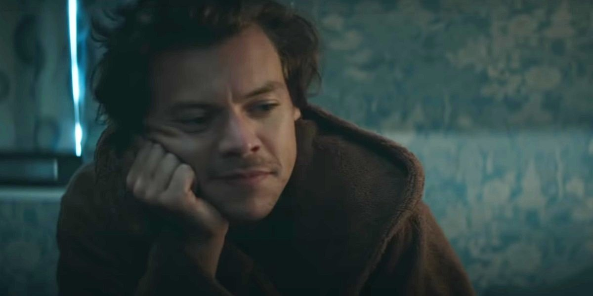 Harry Styles in Adore video