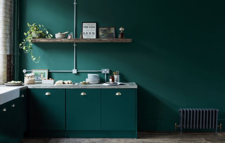 The Best Paints For Kitchen Cabinets, Blue Green Kitchen Cabinet Paint