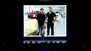 Lei Jun with Elon Musk