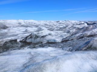 Greenland ice sheet.