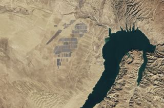 As of February 2017, Longyangxia Dam Solar Park in China is considered the world's largest solar farm.