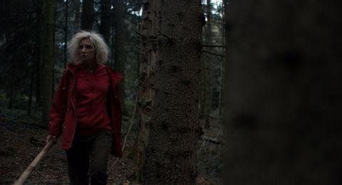 Lucie Debay in 'Hunted.'