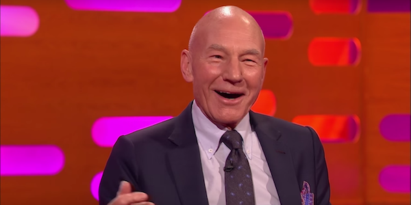 Patrick Stewart on The Graham Norton Show