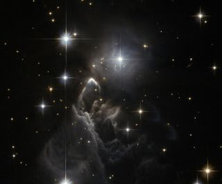 Ghost-Like Nebula Revealed in Haunting Space Photo