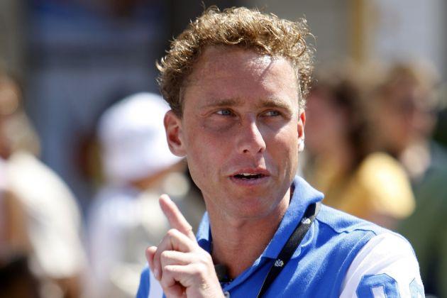 22 July 2008 95th Tour de France Stage 16 : Cuneo - Jausiers BOOGERD Michael (NED) Photo : Yuzuru SUNADA