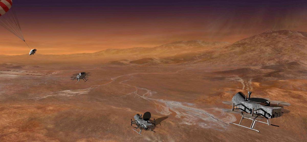 Dragonfly' Drone Could Explore Saturn Moon Titan | Space