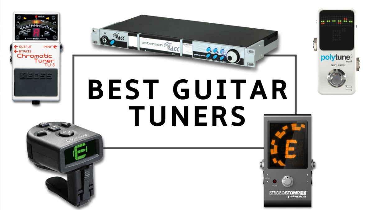 10 best guitar tuners 2020: chromatic, polyphonic and strobe guitar tuners