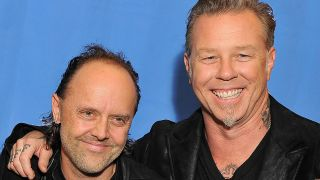 lars ulrich and james hetfield