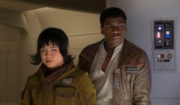 Finn and Rose in Star Wars: The Last Jedi