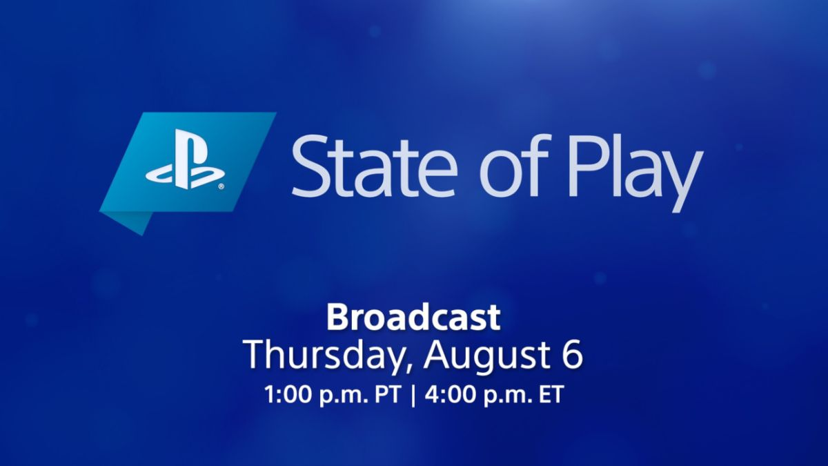 Sony State of Play August 2020: how to watch the PlayStation livestream