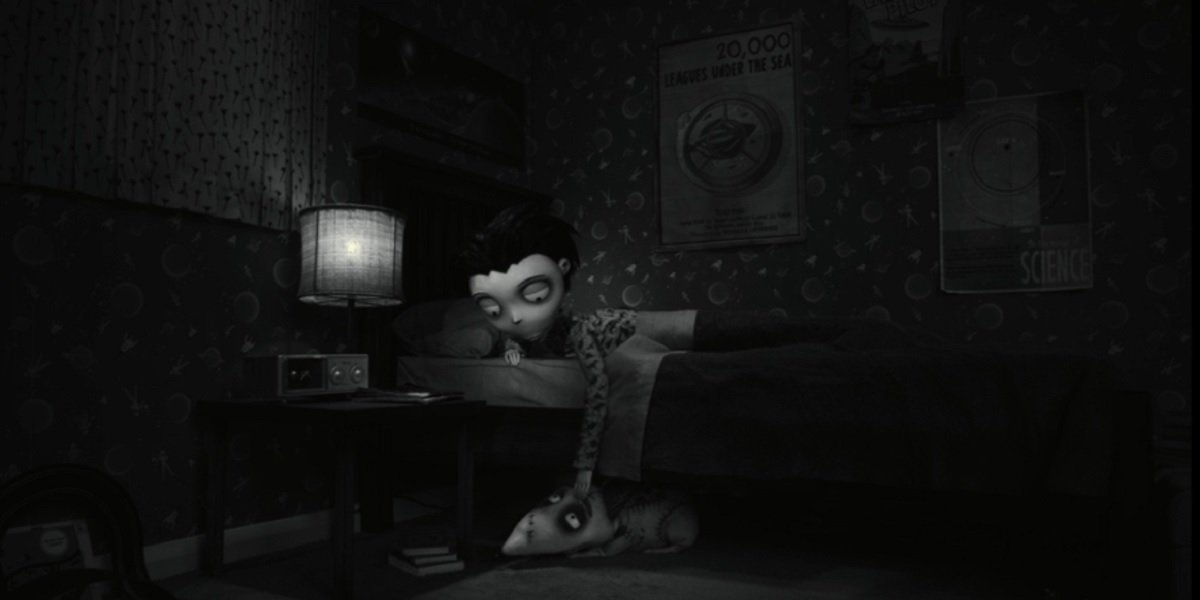 Young Victor and Frankenweenie in Frankenweenie