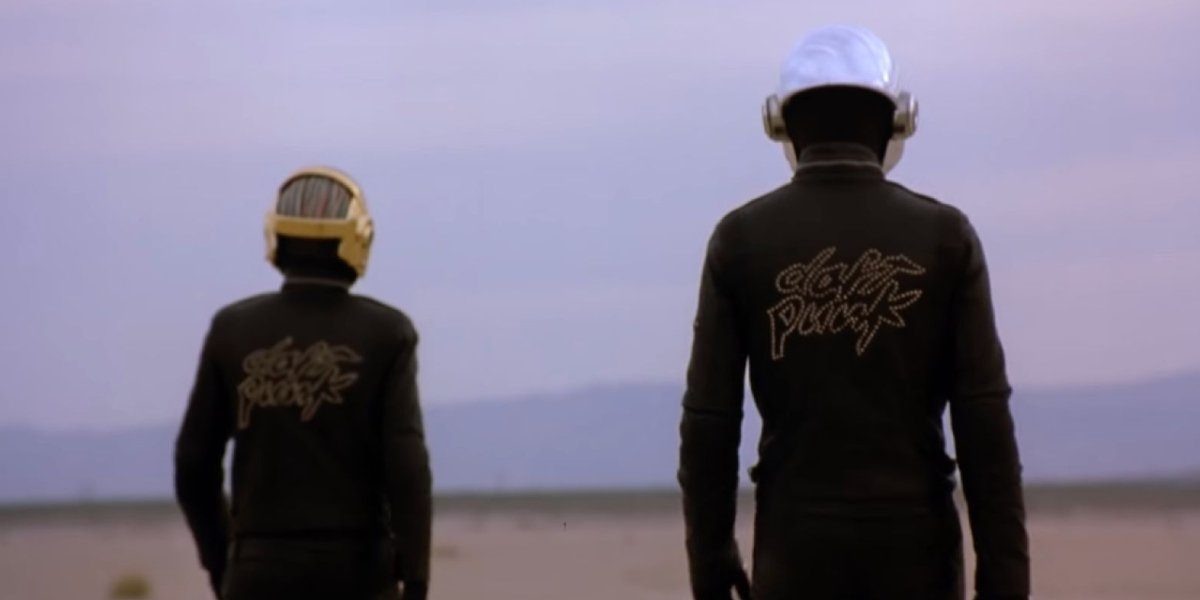 Peter Hurteau and Michael Reich as Daft Punk in Epilogue
