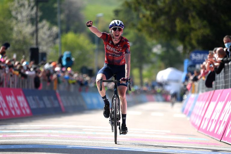 Dan Martin completes the set after winning a stage at every Grand Tour