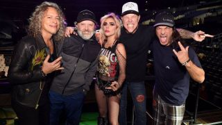 Metallica with Lady Gaga