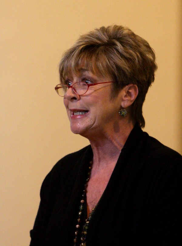 Anne Kirkbride, who played Deirdre Barlow