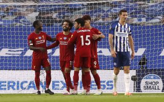 Brighton and Hove Albion v Liverpool – Premier League – AMEX Stadium